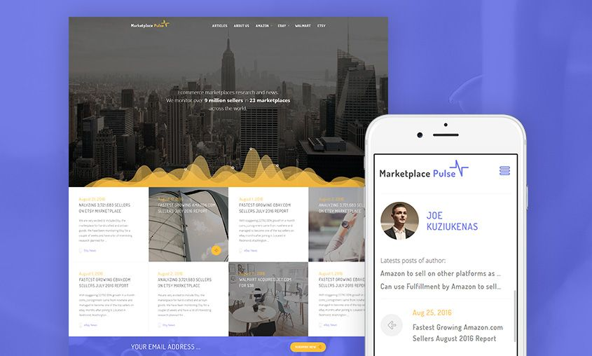 Thumb of Marketplace Pulse